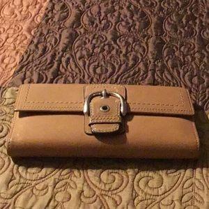 Vintage wallet coach